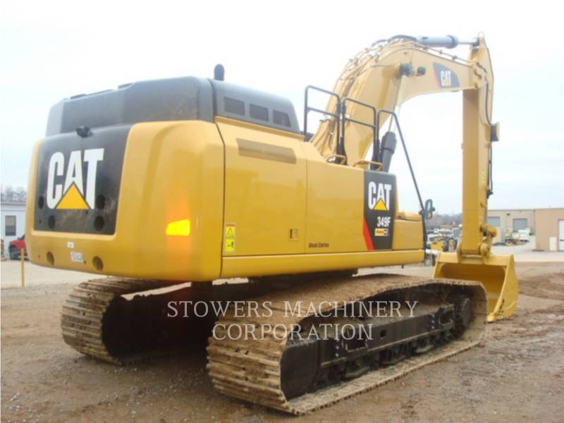 CATERPILLAR KETTEN-HYDRAULIKBAGGER 349F equipment  photo 4