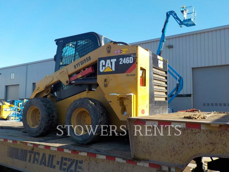 CATERPILLAR SKID STEER LOADERS 246D CAB equipment  photo 2