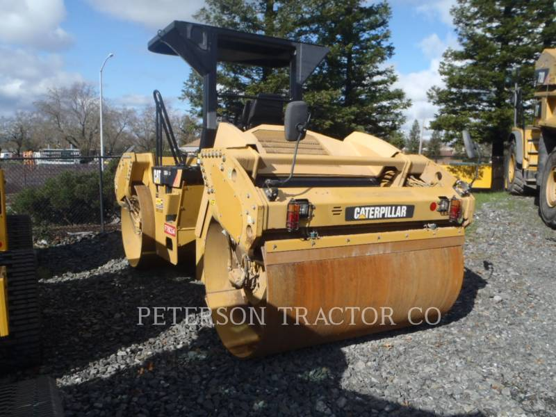 CATERPILLAR TANDEMOWY WALEC WIBRACYJNY DO ASFALTU (STAL-STAL) CB54 XW equipment  photo 1