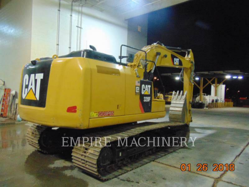 CATERPILLAR KETTEN-HYDRAULIKBAGGER 320FL equipment  photo 2
