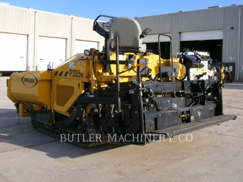 WEILER ASFALTEERMACHINES P385B equipment  photo 3