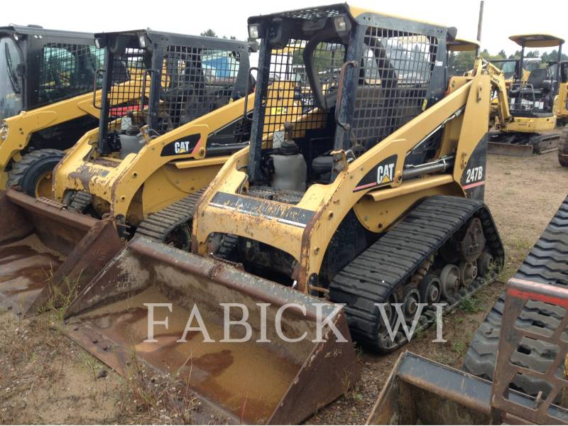 CATERPILLAR 多様地形対応ローダ 247B equipment  photo 9