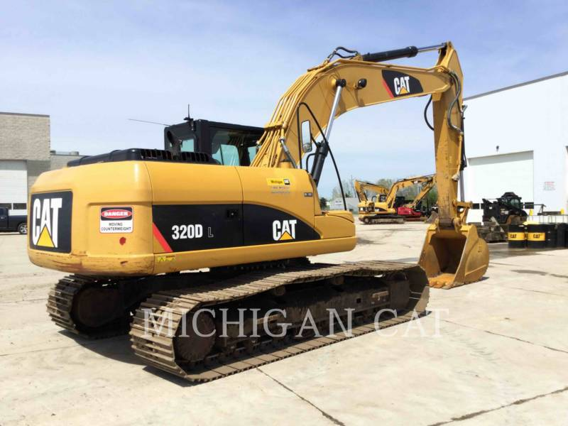 CATERPILLAR TRACK EXCAVATORS 320DL PQ equipment  photo 3