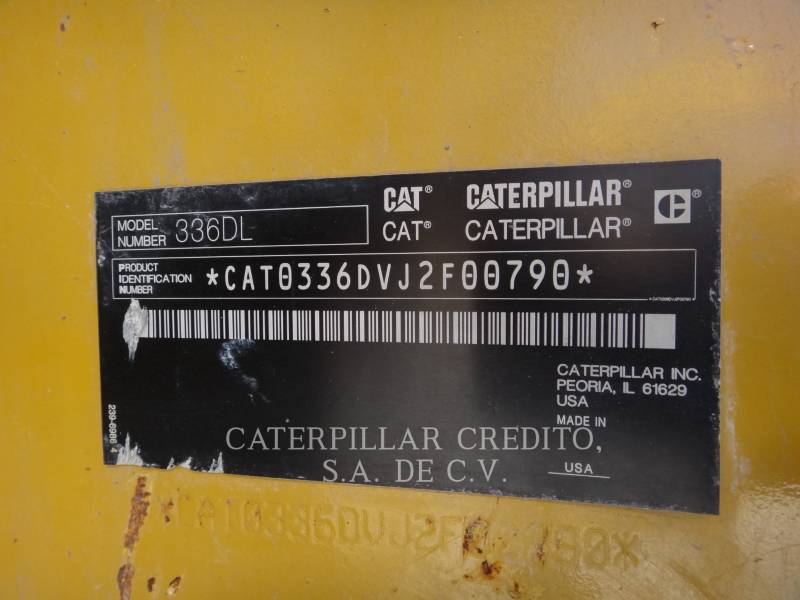 CATERPILLAR PELLES SUR CHAINES 336D L  equipment  photo 5