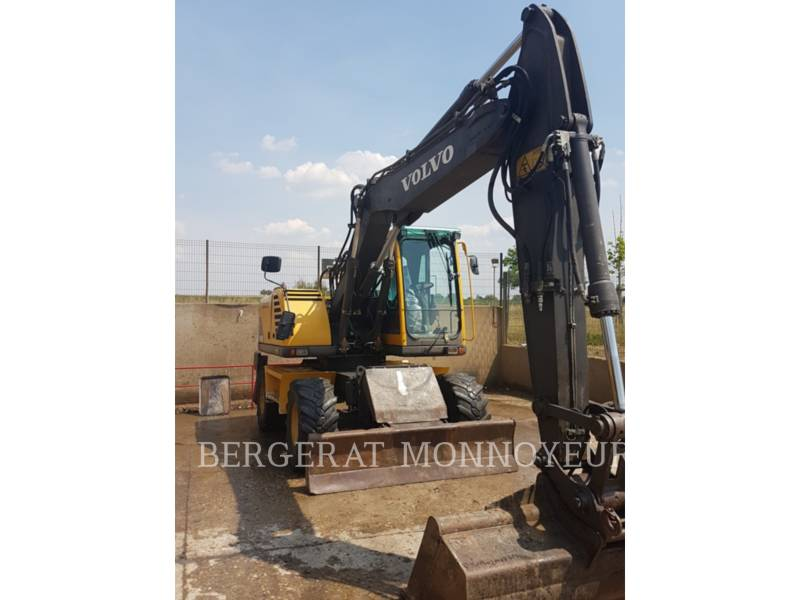 VOLVO CONSTRUCTION EQUIPMENT ホイール油圧ショベル EW140B equipment  photo 6