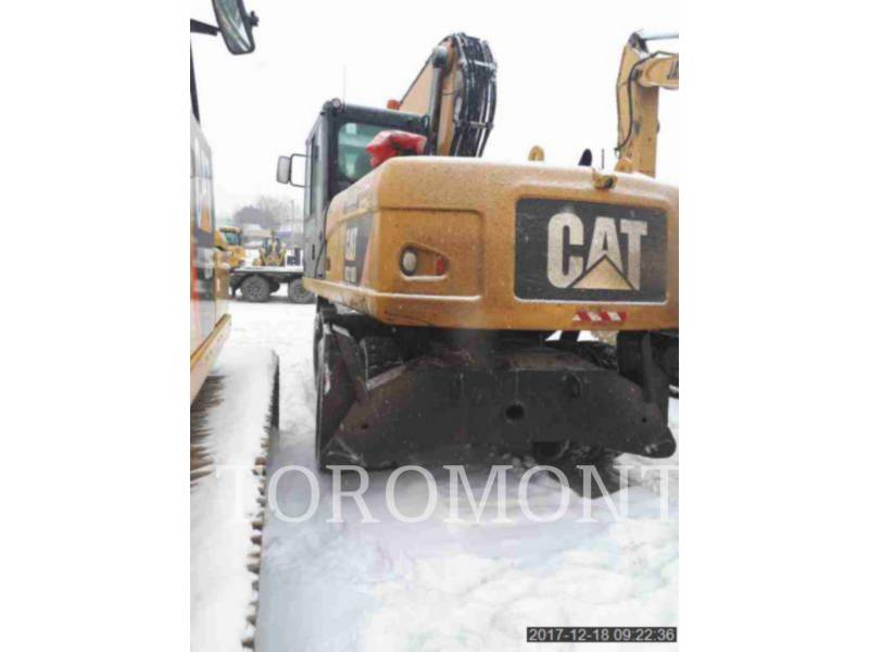 CATERPILLAR ESCAVATORI GOMMATI M318D equipment  photo 3
