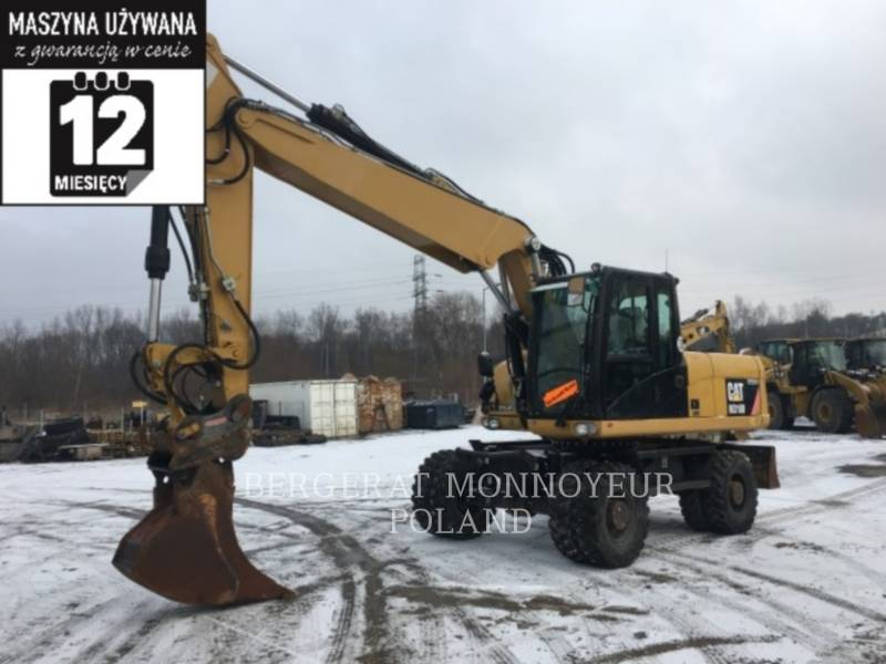 CATERPILLAR KOPARKI KOŁOWE M318D equipment  photo 1