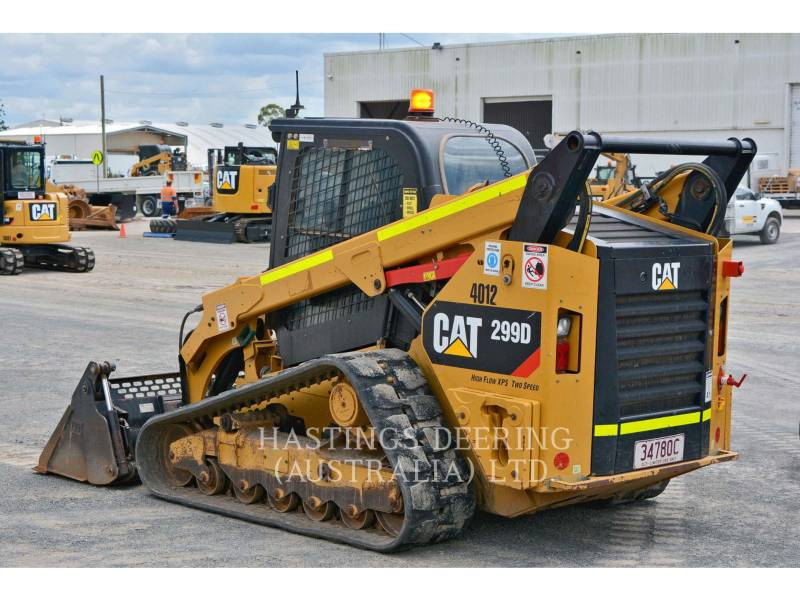 CATERPILLAR UNIWERSALNE ŁADOWARKI 299D equipment  photo 6