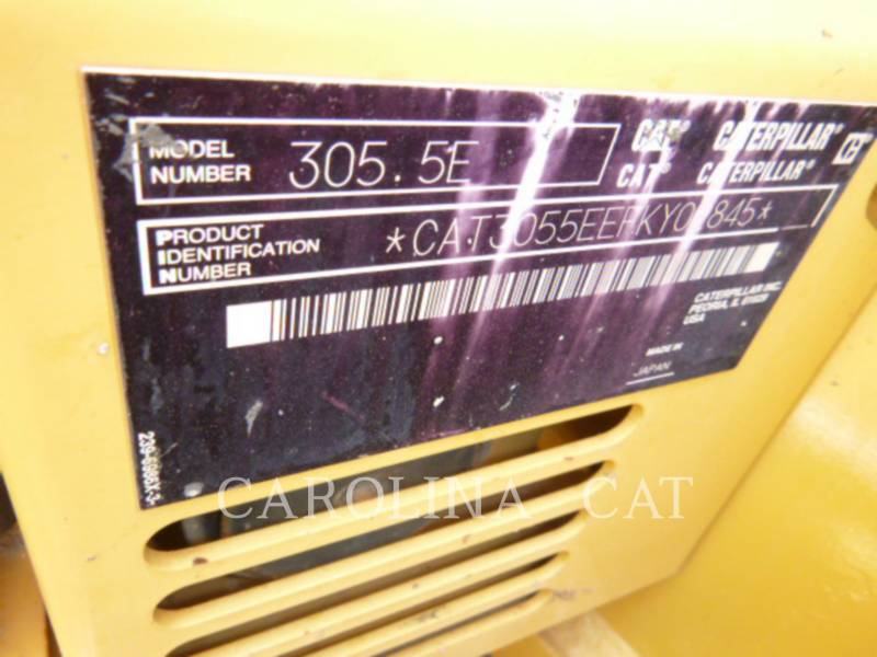 CATERPILLAR ESCAVATORI CINGOLATI 305.5E CB equipment  photo 6