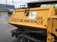 BLAW KNOX / INGERSOLL-RAND ASPHALT PAVERS PF 5510 equipment  photo 8