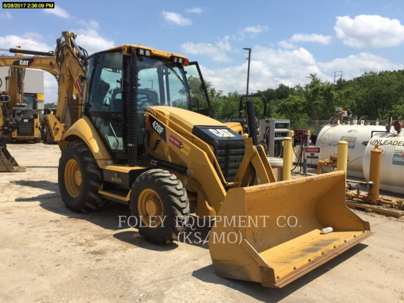 CATERPILLAR BAGGERLADER 420F equipment  photo 1