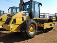 Equipment photo CATERPILLAR CS-533E VIBRATORY SINGLE DRUM SMOOTH 1
