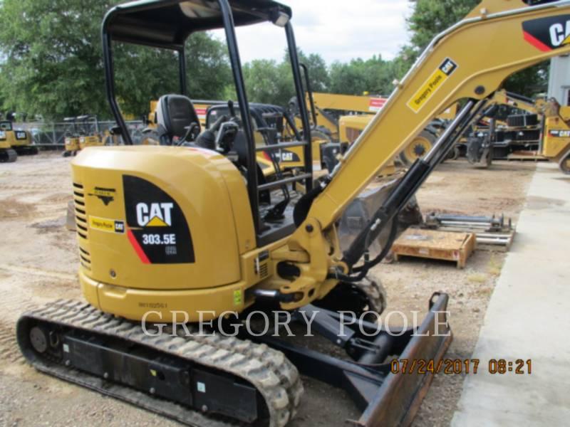 CATERPILLAR TRACK EXCAVATORS 303.5E CR equipment  photo 2
