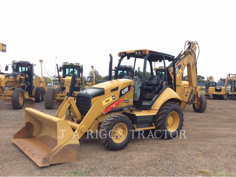 CATERPILLAR RETROEXCAVADORAS CARGADORAS 420F 4H equipment  photo 1