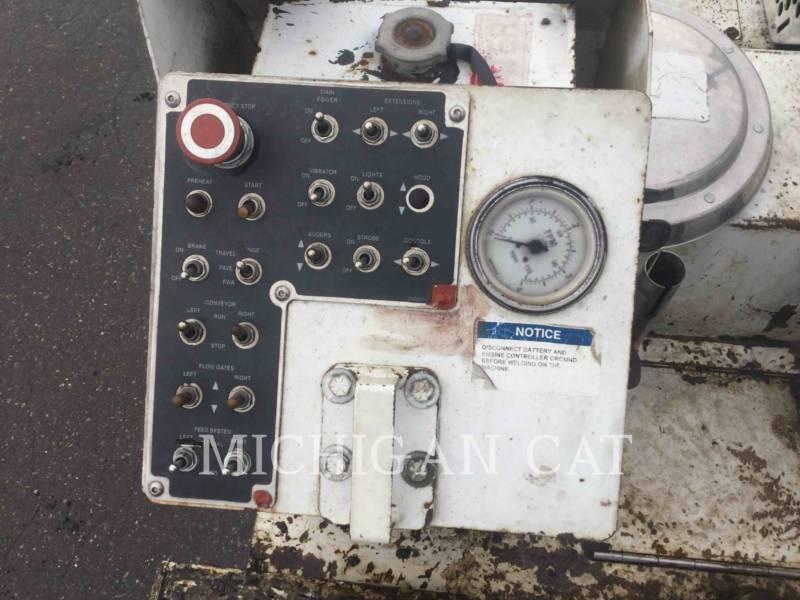 ROADTEC ASPHALT PAVERS RP175 equipment  photo 15