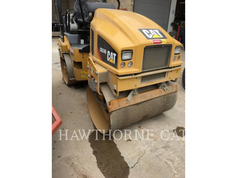 CATERPILLAR COMPACTORS CB24B equipment  photo 4