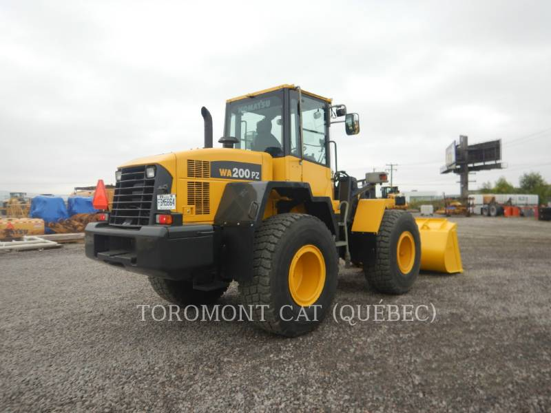 KOMATSU WHEEL LOADERS/INTEGRATED TOOLCARRIERS WA200 equipment  photo 3