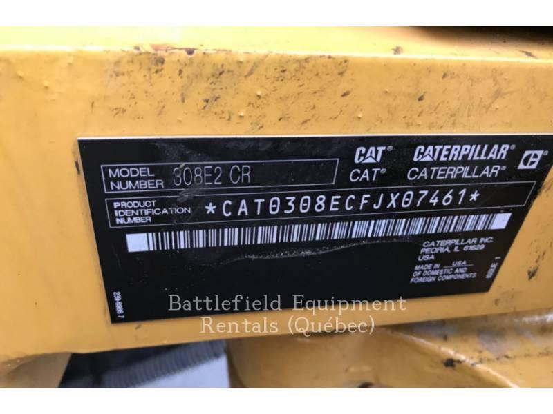 CATERPILLAR KETTEN-HYDRAULIKBAGGER 308E2CRSB equipment  photo 15