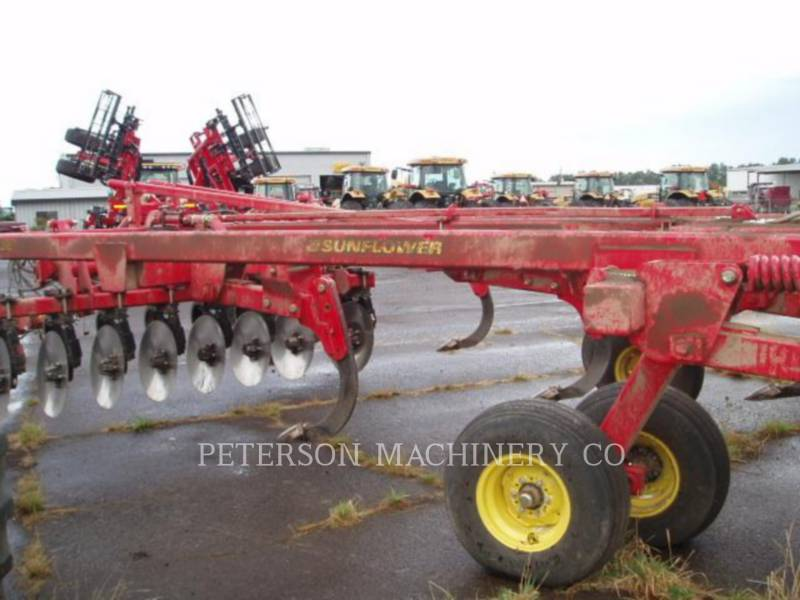 SUNFLOWER DISC AG TRACTORS SF4412-07 equipment  photo 3
