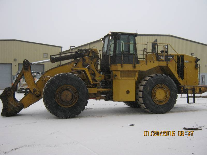 CATERPILLAR CHARGEURS SUR PNEUS MINES 988H equipment  photo 5