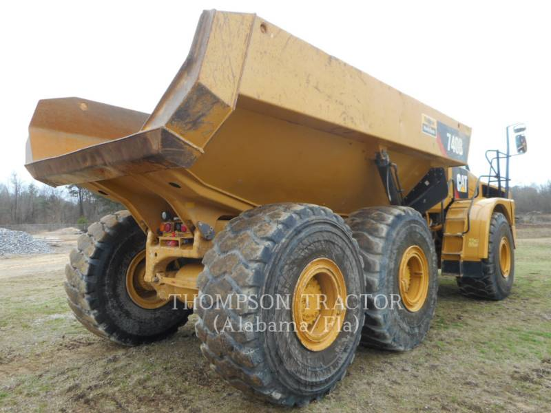 CATERPILLAR ARTICULATED TRUCKS 740B TGATE equipment  photo 5