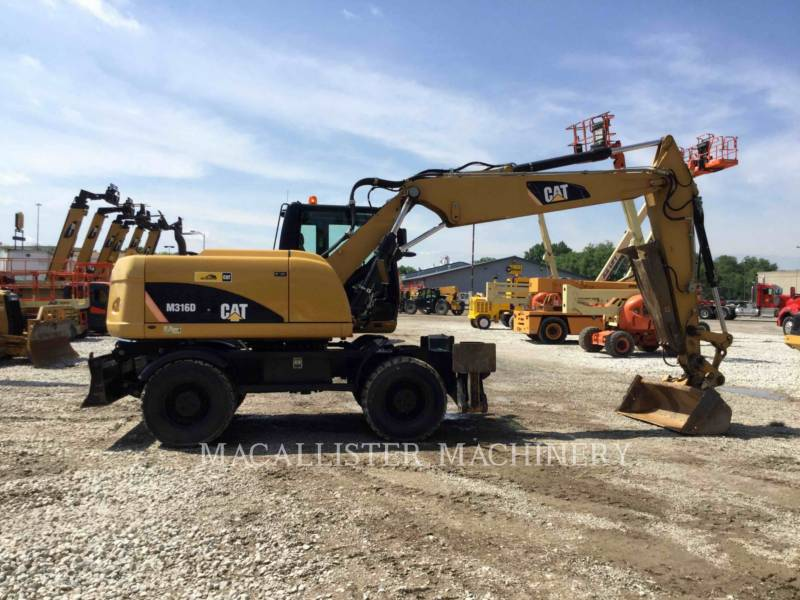 CATERPILLAR WHEEL EXCAVATORS M316D equipment  photo 13