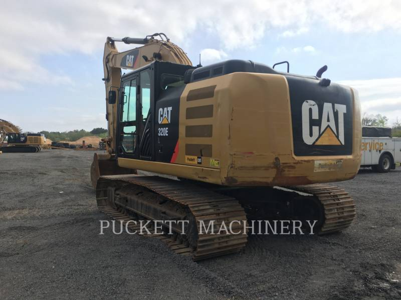 CATERPILLAR KETTEN-HYDRAULIKBAGGER 320E equipment  photo 2