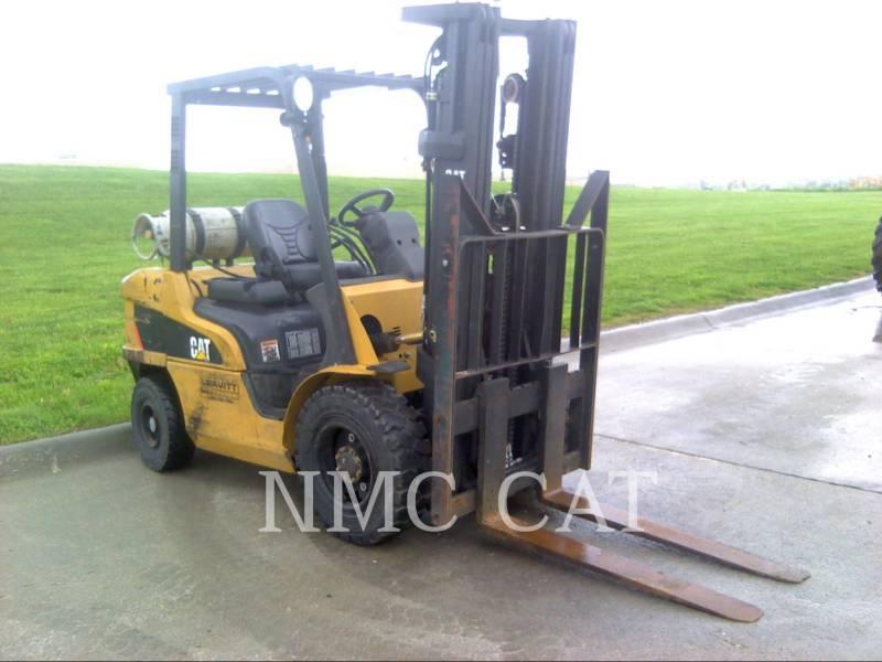 CATERPILLAR LIFT TRUCKS GABELSTAPLER P6500LP_MC equipment  photo 1