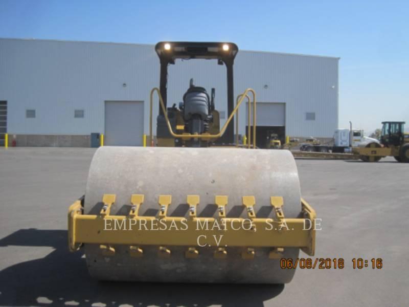 CATERPILLAR VIBRATORY SINGLE DRUM SMOOTH CS-533E equipment  photo 3