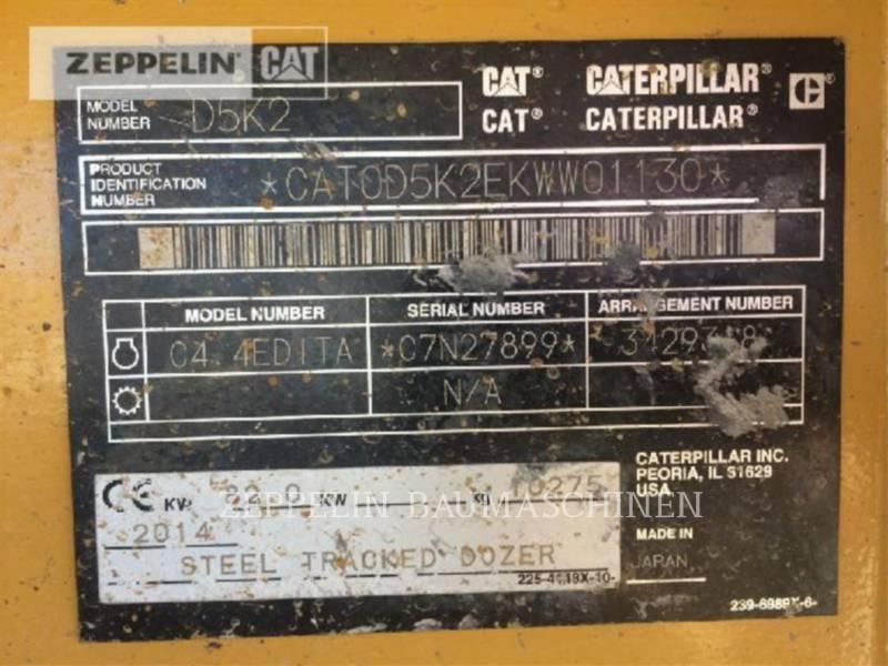 CATERPILLAR TRACK TYPE TRACTORS D5K2XL equipment  photo 24