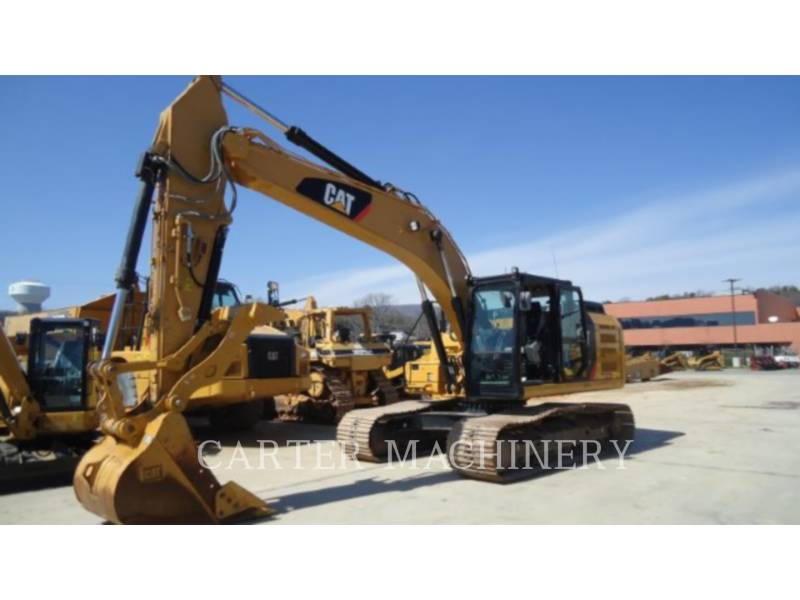 CATERPILLAR ESCAVATORI CINGOLATI 323 F L equipment  photo 1