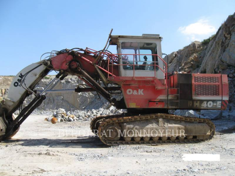 O&K PELLE MINIERE EN BUTTE RH40 equipment  photo 1