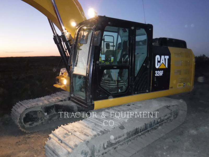 CATERPILLAR KOPARKI GĄSIENICOWE 326F L equipment  photo 1