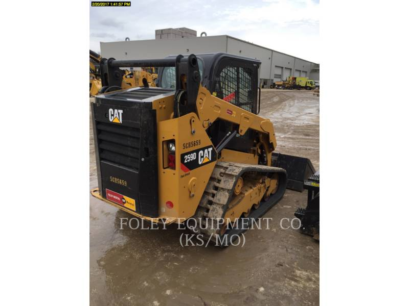CATERPILLAR MINICARREGADEIRAS 259DSTD2CA equipment  photo 4