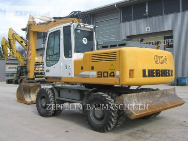 LIEBHERR EXCAVADORAS DE RUEDAS A904CLIT equipment  photo 4