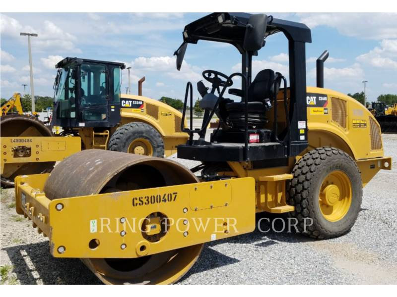 CATERPILLAR VIBRATORY DOUBLE DRUM ASPHALT CS44B equipment  photo 1