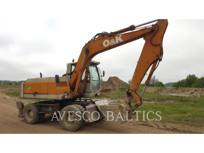 O&K WHEEL EXCAVATORS MH PLUS equipment  photo 3
