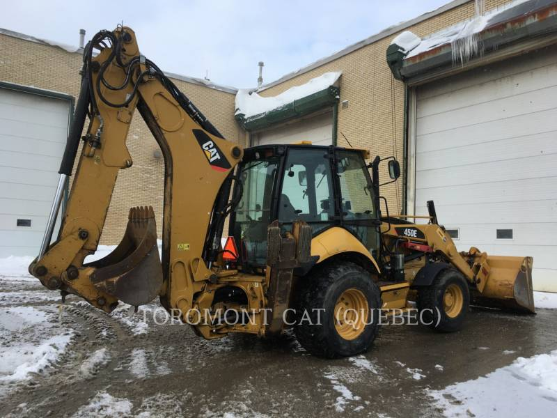 CATERPILLAR CHARGEUSES-PELLETEUSES 450E equipment  photo 3