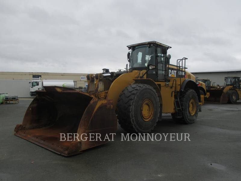 CATERPILLAR CARGADORES DE RUEDAS 980K equipment  photo 2