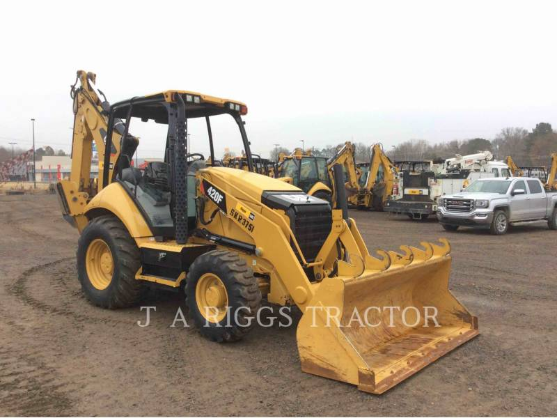 CATERPILLAR BACKHOE LOADERS 420F 4E equipment  photo 8