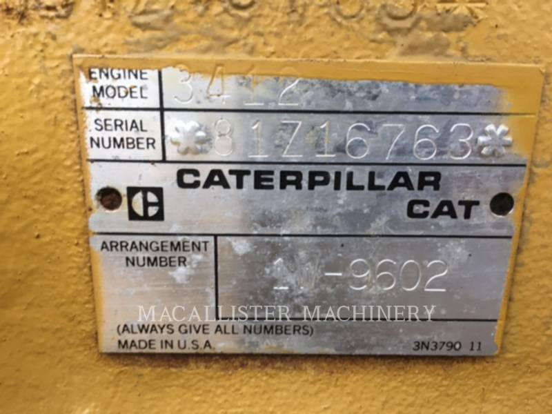 CATERPILLAR STATIONARY GENERATOR SETS 3412 equipment  photo 7