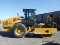 Equipment photo CATERPILLAR CS 56 B COMPATTATORE A SINGOLO TAMBURO VIBRANTE LISCIO 1