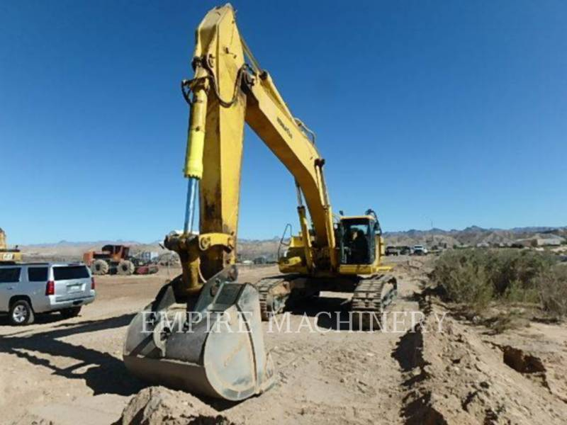 KOMATSU LTD. PELLES SUR CHAINES PC600LC equipment  photo 1