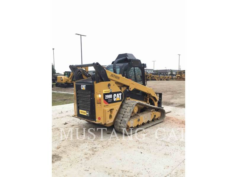 CATERPILLAR SKID STEER LOADERS 299D XHP equipment  photo 3
