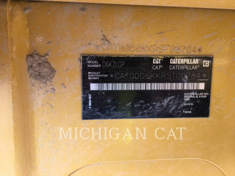 CATERPILLAR TRACTORES DE CADENAS D6K2L CAG equipment  photo 7