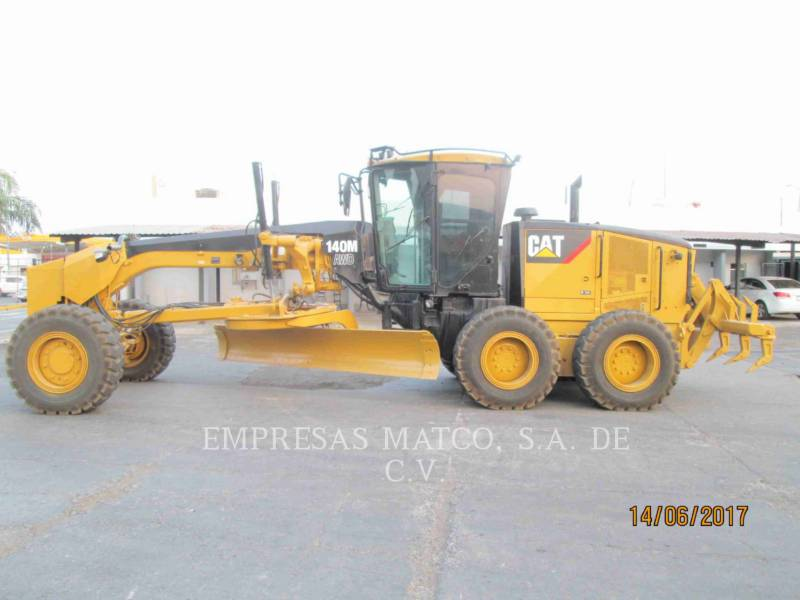 CATERPILLAR MOTORGRADER 140 M VHP equipment  photo 1