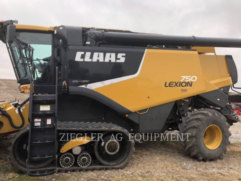 LEXION COMBINE COMBINES 750TT equipment  photo 1