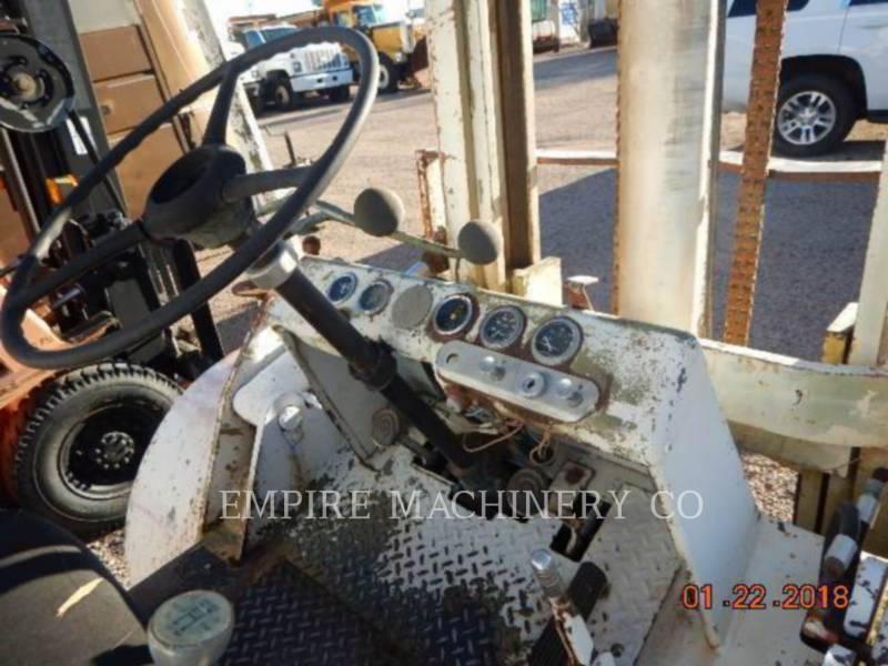 HYSTER LEVANTAMIENTO - PLUMA FORKLIFT equipment  photo 5