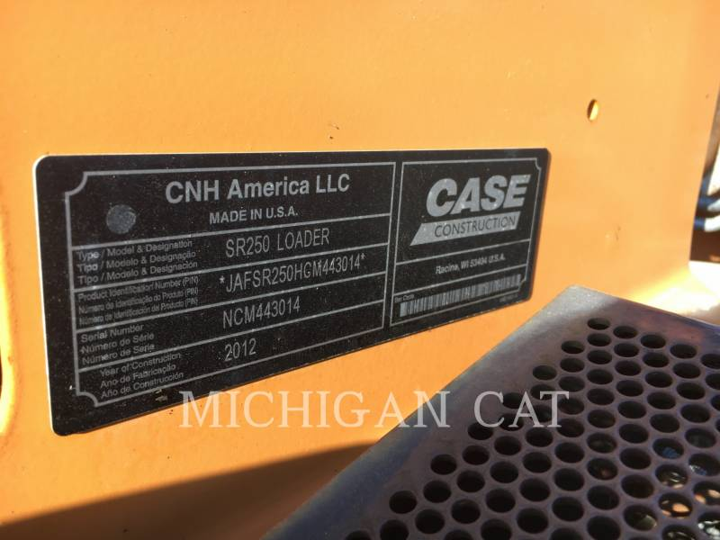 CASE SKID STEER LOADERS SR250 equipment  photo 8