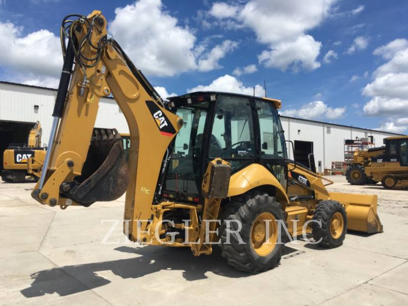CATERPILLAR RETROESCAVADEIRAS 420E equipment  photo 4